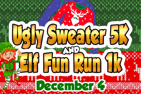 Ugly Sweater and Elf Run